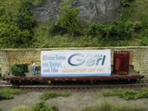 Werbewagen von Foto Gerl