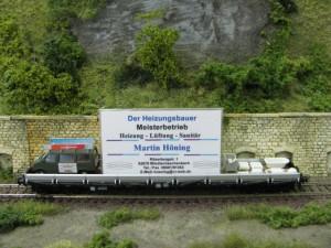 Werbewagen von Heizung Sanitär Höning
