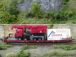 Werbewagen von Lochner Kranverleih
