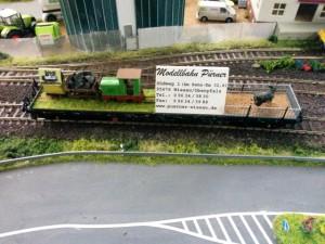 Werbewagen von Modellbahn Pürner