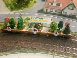 Werbewagen von Garten Punzmann