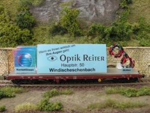 Werbewagen von Optik Reiter