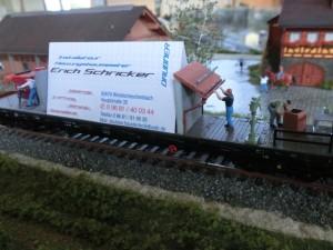 Werbewagen von Daubner Heizungsbau, Inh. Schricker