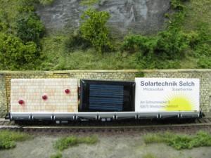Werbewagen von Solartechnik Selch