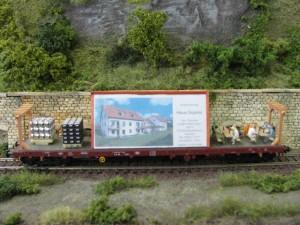 Werbewagen des Gasthof Zum Waldnaabtal