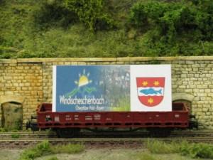 Werbewagen der Stadt Windischeschenbach