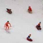 Nur was für echte Männer: Skifahren bei den MEF