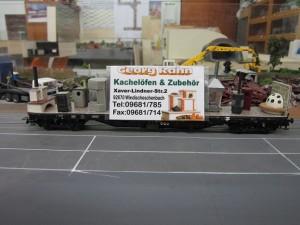 Werbewagen Kachelöfen Rahn